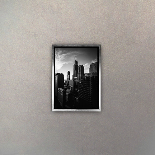 Vista New York III (Canvas)