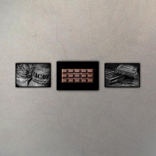 Combo Chocolate I (3 Cuadros)