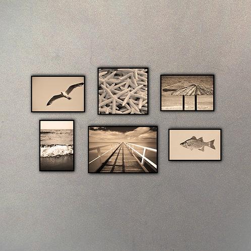 Combo Playa (6 cuadros)