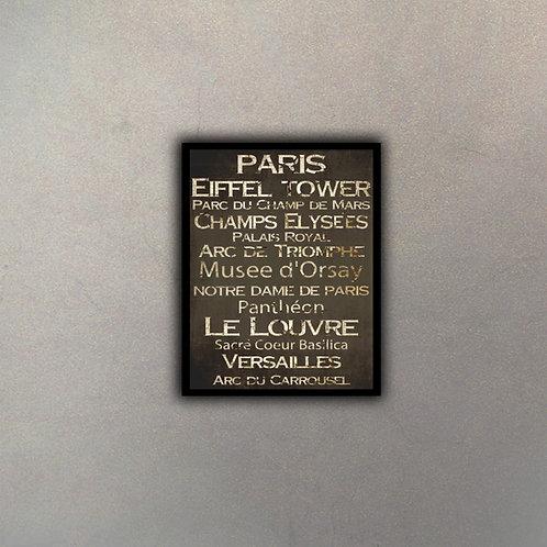 Tipografía París