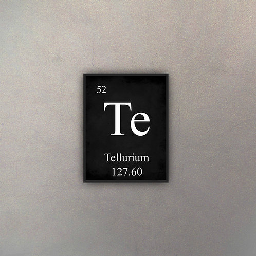 Elemento Telurio