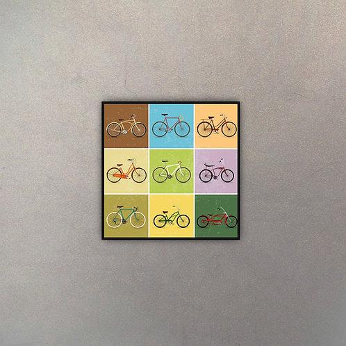 Bicicleta Pop Art