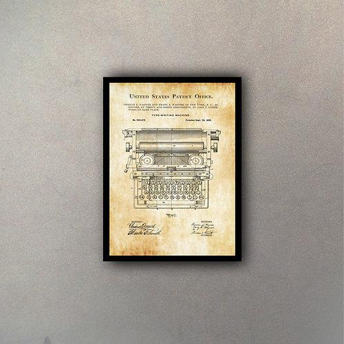 Invento Máquina De Escribir II