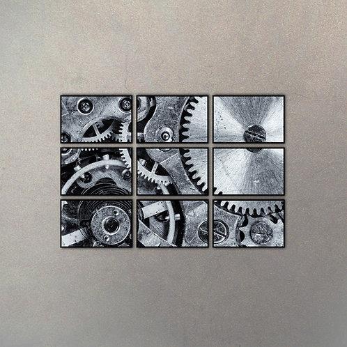 Set Mecanismo Reloj I (9 Cuadros)