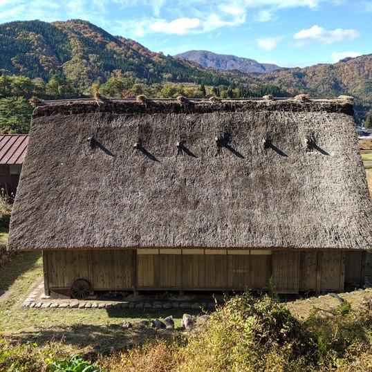 Gassho-Zukuri Village House