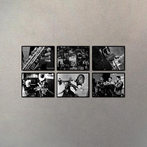 Combo Jazz I (6 Cuadros)