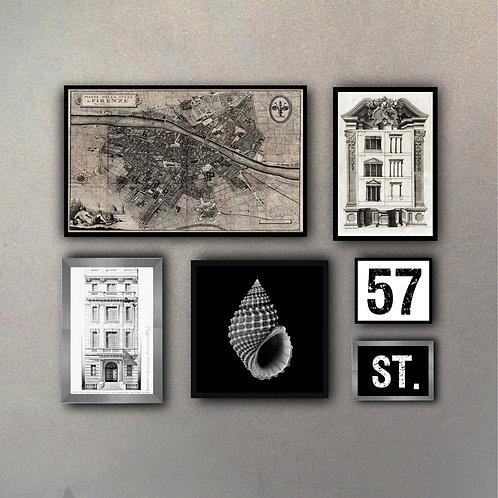 Combo Mix Colecciones II (6 Cuadros)