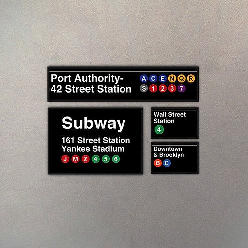 Combo NYC Subway I