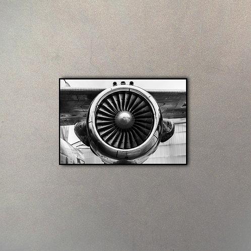 Frente Turbina Avión