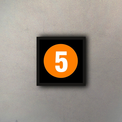 "NYC Subway Línea ""5"""