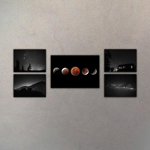 Combo Astronomía VI (5 Cuadros)