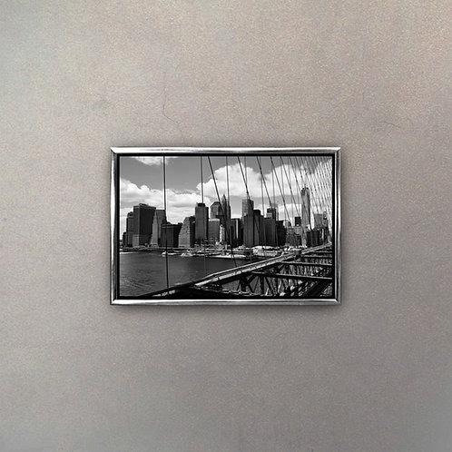 Vista Brooklyn Bridge II (Canvas)