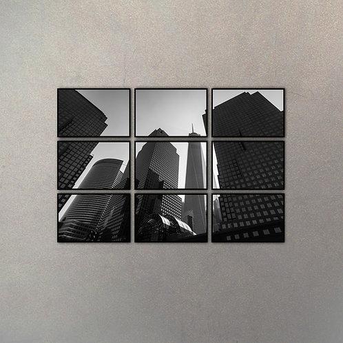 Set Urbano New York (9 Cuadros)