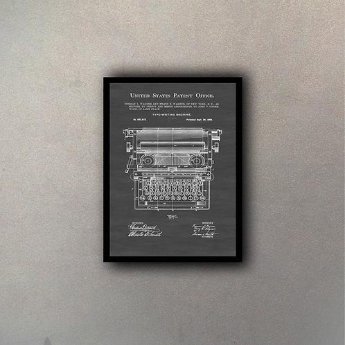 Invento Maquina De Escribir I