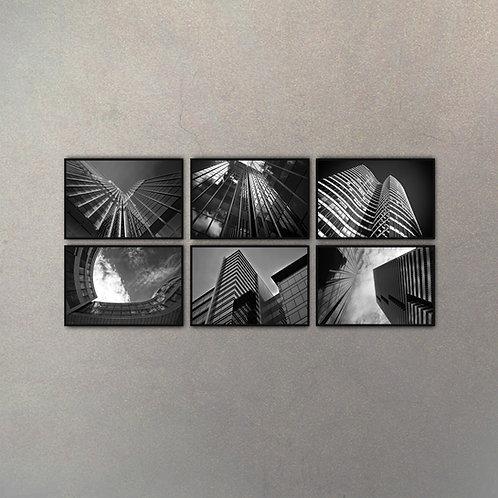 Combo Rascacielos (6 Cuadros)