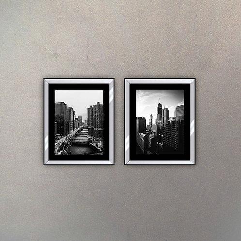 Set Edificios Marco Espejado I