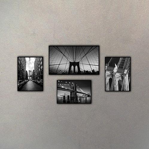 Combo Puente Brooklyn I (4 cuadros)