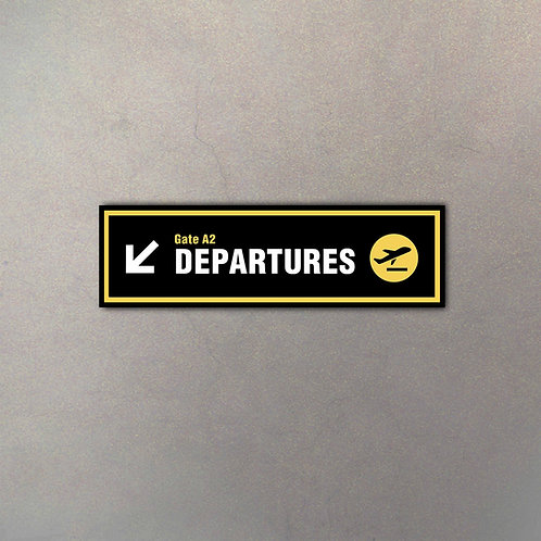 Cartel Departures Gigante