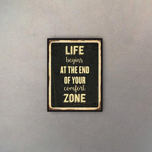 Frase Motivacional Life Begins
