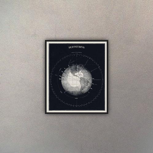 Grabado Astronomía I