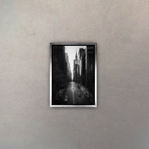 Vista Calles New York I (Canvas)