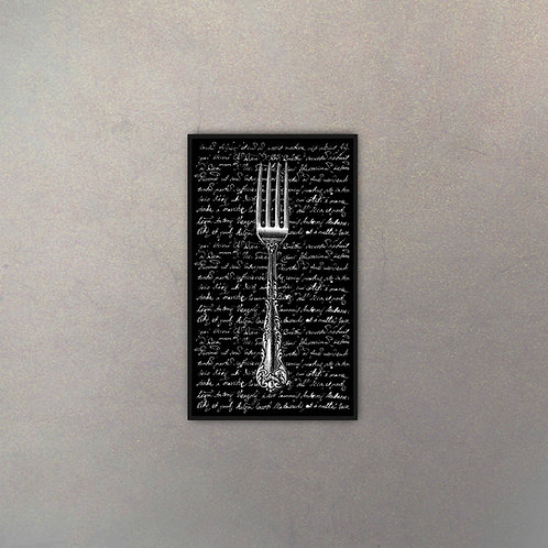Tenedor Tipografía