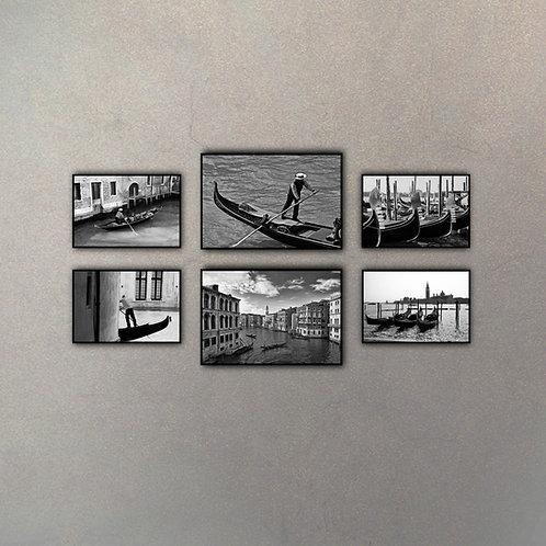 Combo Venecia (6 cuadros)