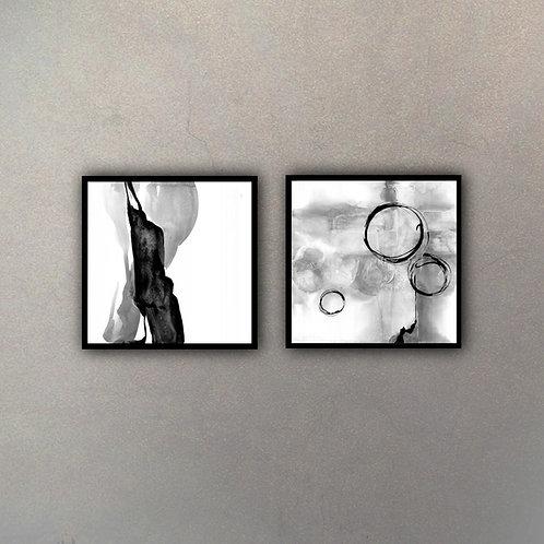 Set Arte Abstracto (2 Cuadros)