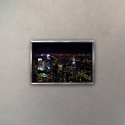 Vista Nocturna New York I (Canvas)