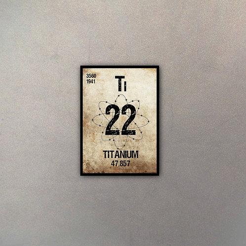 Elemento Titanio