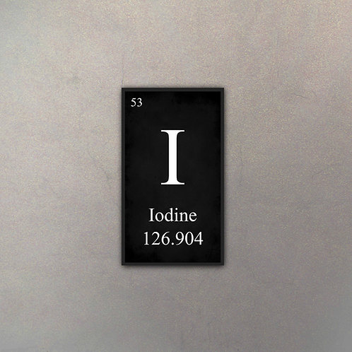Elemento Yodo II