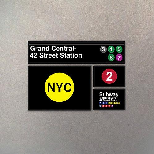 Combo NYC Subway IV