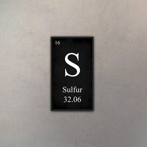 Elemento Sulfuro II