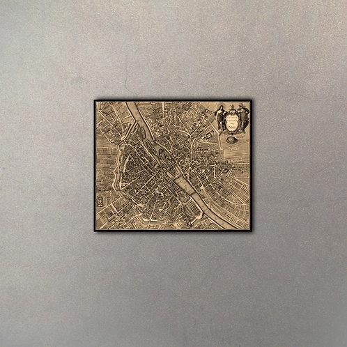Mapa Paris III