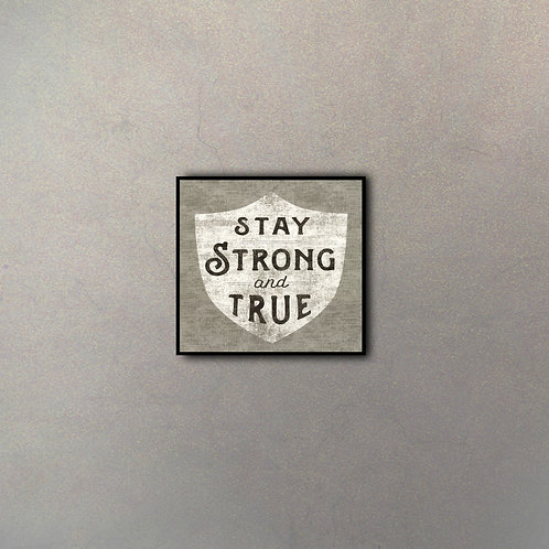 Frase Motivacional Stay Strong
