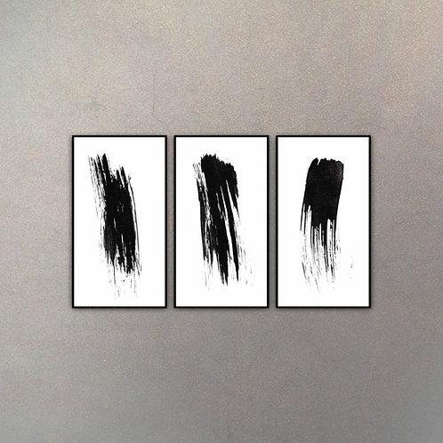 Set Arte Moderno I (3 Cuadros)