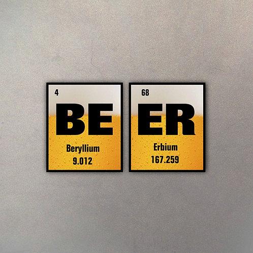 Set Beer (2 Cuadros)