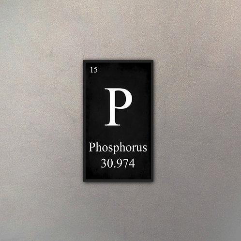 Elemento Fósforo III