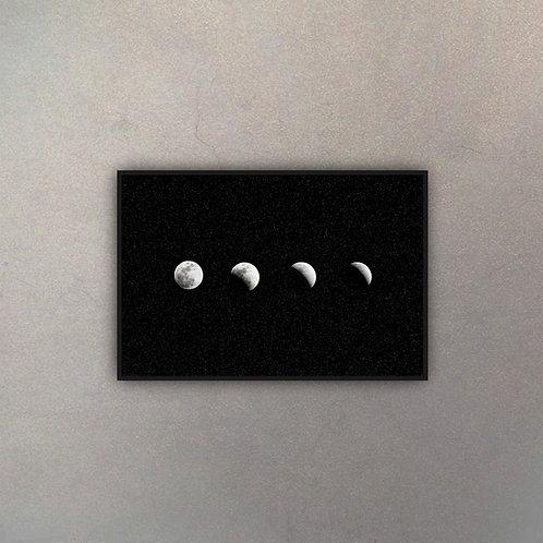 Fases Luna Con Estrellas