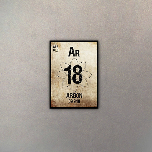 Elemento Argón