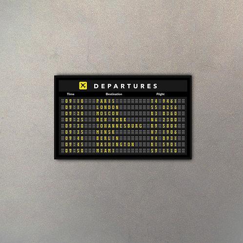 Cartel Aeropuerto II