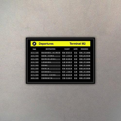 Cartel Aeropuerto III