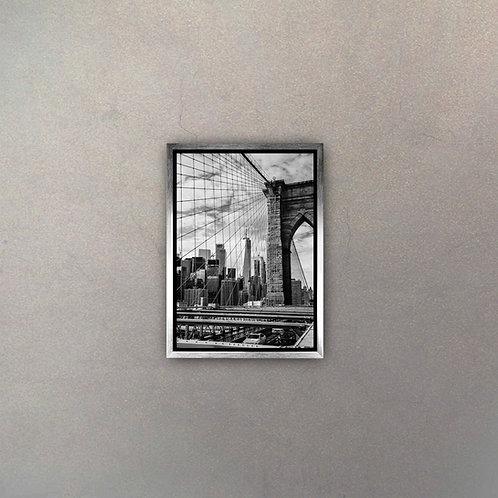 Vista Brooklyn Bridge I (Canvas)