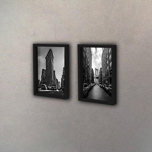 Set Ciudad New York I (2 Cuadros)