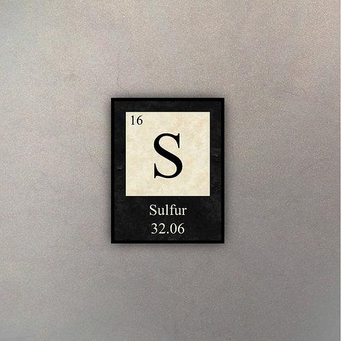 Elemento Sulfuro I