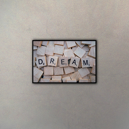"""Dream"" En Letras Scrabble"
