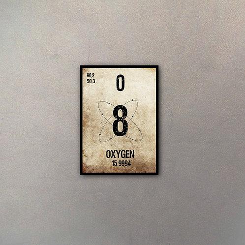 Elemento Oxígeno