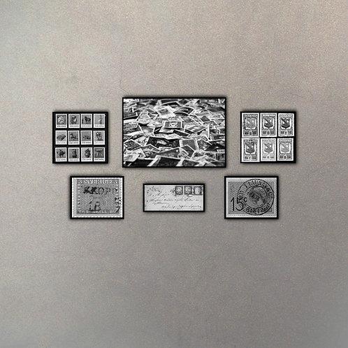 Set Estampillas (6 cuadros)