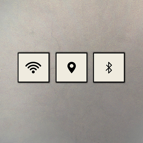 Combo Wireless (3 Cuadros)