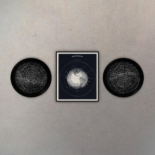 Combo Astronomía I (3 Cuadros)